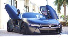 #i8 #bmw #vossen #wheels