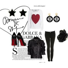 edgy, created by alicat5797.polyvore.com  im soo excited about this website, check it out!!  you can make your own outfits like the ones all over pinterest!