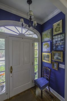 593ccdd5209 Benjamin Moore- New York State of Mind  blue on the walls House Paint