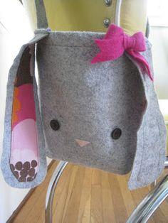 bunny bag for easter