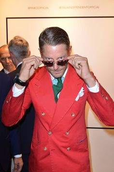Lapo Elkann at #THEPINKOINVASION #sunglasses collection launch event #PINKO #MFW #SS16