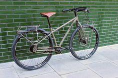 Touring Bicycles, Touring Bike, Surly Bike, Bike Hitch, Paint Bike, Bmx, Retro Bicycle, Push Bikes, Urban Bike