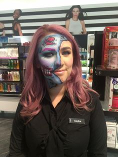Glam Zombie by Yorkdale502. Tag your pics with #Halloween and #SephoraSelfie on Sephora's Beauty Board for a chance to be featured!