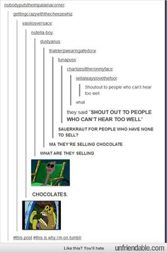 Tumblr - Shout outs
