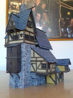 Medieval Manor - 28mm Building - Tabletop - Terrain - Diorama - Wargaming