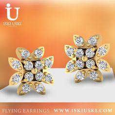 Earrings | Flying Earrings | IskiUski IskiUski is showing Popular flying earrings, designed by Aakanksha Rustagi