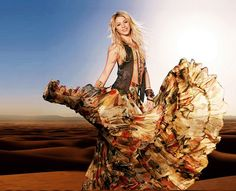 Shakira – I've been crushing on this woman since I was 6 years old. A beautiful human being.