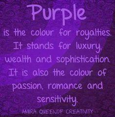 Purple Symbolism Definition Via Www Facebook Purpleiswho Magenta The Color