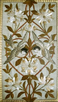 William Morris & Co Embroidery