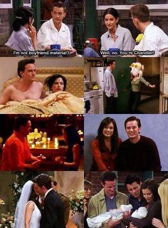 Chandler ❤️ Monica