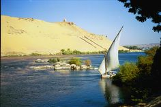 The Nile, from Elephantine Island, Egypt