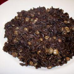 Haitian Mushroom Rice and Peas