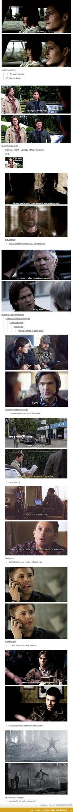 Supernatural on Tumblr