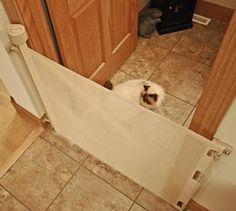 53 Best Indoor Cat Barriers Images On Pinterest Cat Gate