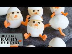 These Deviled Egg Chicks are the perfect savory easter treat! So much fun for the kids to get involved with and most importantly, they're outrageously delicious!!