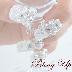 bling up your nails
