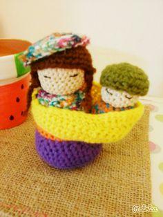 #Coya #norteña #Argentina crochet #amigurumi
