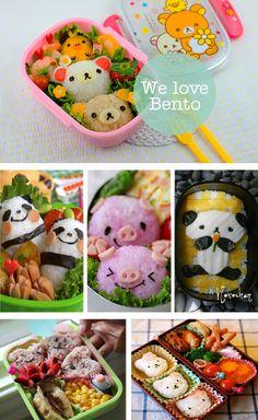 Los japoneses inventaron esta forma de transportar la comida de la forma más artística. Pura inspiración para el tupper del trabajo. We love Bento.