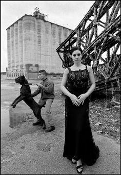 ITALY, Sicily, Siracusa: fashion story with Monica Bellucci by  Ferdinando Scianna.