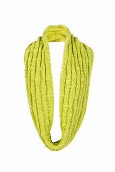 Free Knitting Pattern: Textured Infinity Scarf #knitting #shibui