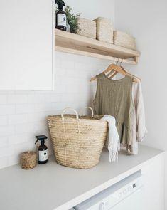 Home Decor / Minimal Interior Design Inspiration – Laundry Room İdeas 2020 Small Laundry, Laundry In Bathroom, Small Bathroom, Laundry Decor, Basement Laundry, Laundry Area, Small Utility Room, Target Bathroom, Houzz Bathroom