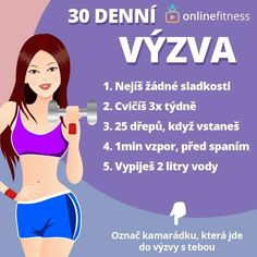 30 Day Fitness, Fitness Motivation, Health Fitness, 30 Day Challenge, Workout Challenge, Face Hair, Detox, Challenges, Weight Loss