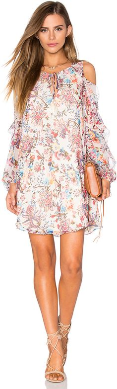 Pale, pretty patterns in paisley are always a fun choice on holiday, like the Haute Hippie The Flower In The Sun Dress