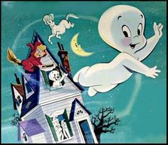 Casper The Friendly Ghost and Wendy