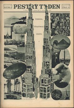 Pestrý Týden from 1927 - Vintage Covers from Czech Weekly News Czech Republic, Historical Photos, Prague, Studio, Retro, News, Cover, Garden, Photography