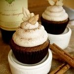 Pumpkin Cupcakes with Cinnamon Butter Cream