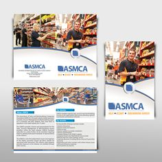 freelance ASMCA (The Association of Sales and Merchandising Companies Australasia) needs a new brochure design by yummy