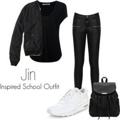 Jin Inspired School Outfit