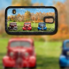 Classic 3 Hot Rods in a Field Image Design on Samsung Galaxy S5 Black Rubber Silicone Case by EastCoastDyeSub on Etsy https://www.etsy.com/listing/195569399/classic-3-hot-rods-in-a-field-image