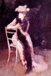 whistler painting rose and silver - Google Search