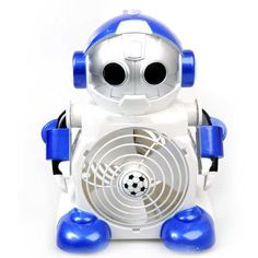 Like any of us need to find an excuse to put one more thing on our desk! If you do, the Cute Robot Shaped Cool Mini Desktop Fan has you covered.  This fan does what it is supposed to; keep you Cool while looking cool at the same time.  Why use a boring regular fan on your desk when you know everyone loves robots and this is sure to be a hit at the office or with your friends.