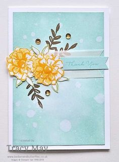 Stampin' Up! What I Love Sale-a-bration free stamp set Tracy May