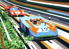 Targa duel by ~klem on deviantART