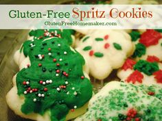Gluten-Free Spritz Cookies | The Gluten-Free Homemaker