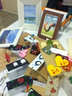 Frufrushop+CriViArt bookmarks: handmade!