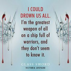 Glass Sword by Victoria Aveyard Victoria Aveyard Books, Red Queen Victoria Aveyard, I Love Books, Good Books, Amazing Books, Red Queen Quotes, Red Queen Book Series, Glass Sword, King Cage