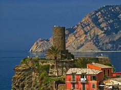 Vernazza Castle , Vernazza - Cinque Terre, ITALY