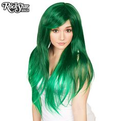 RockStar Wigs Ombre Alexa Collection - Forest Green Fade – Dolluxe®