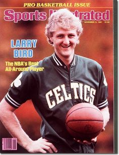 buy Larry Bird of The Celtics Sports Illustrated cover reprints Basketball Workouts, Basketball Legends, Sports Basketball, Basketball Players, Celtics Basketball, Basketball History, Basketball Stuff, Basketball Pictures, College Basketball