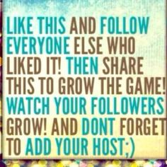 FOLLOWING GAME 1)like this post 2)follow everyone who liked this post 3)share 4)have fun! Jewelry Necklaces