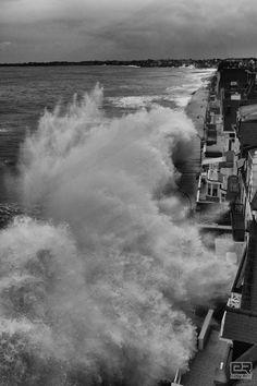 Grande marée à Saint-Malo, Janvier 2014 Region Bretagne, Sea Storm, Brittany France, Ville France, Mont Saint Michel, Seen, Big Waves, Sea World, End Of The World