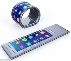 Bendable Smartphones Are Coming But are they ready for prime time? Bloomberg The bendable smartphone based on graphene technology. technology, Bendable Smartphones Are Coming Futuristic Technology, Cool Technology, Wearable Technology, Latest Technology, Technology Gadgets, Energy Technology, Medical Technology, Technology Innovations, Technology Gifts