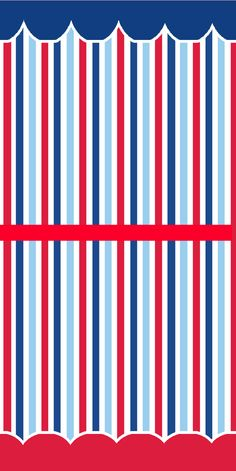 Kit grátis para imprimir Azul, branco e vermelho, Kit marinheiro,