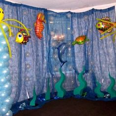 Marine time: Under the sea birthday party