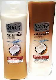 Suave Anti-Dandruff Tropical Coconut Shampoo and Conditioner