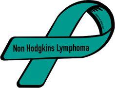 Custom Ribbon: Non Hodgkins Lymphoma